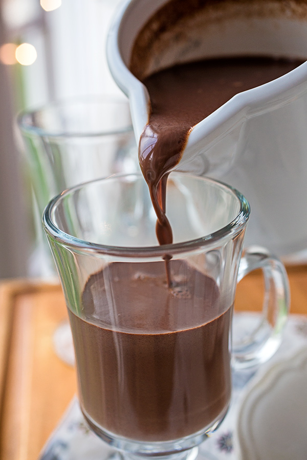 Christmas Eve Sipping Chocolate | thecozyapron.com
