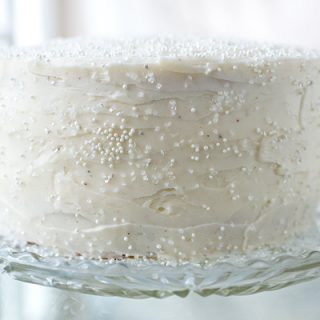 Winter Snow Flurry Cake, and Not Allowing the Season's Dreams to Melt Away
