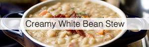 Link to Creamy White Bean Stew recipe