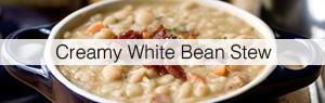 Link to Creamy White Bean Stew recipe