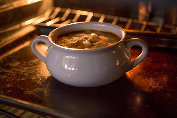 Grilled Chicken Parmesan Soup   thecozyapron.com