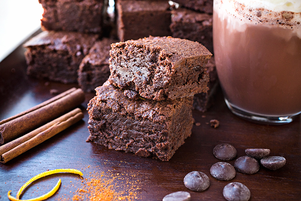 """Sweet Heat"" Mexican Hot Chocolate Brownies, and How a Little Spice Can Be The Best Thing"