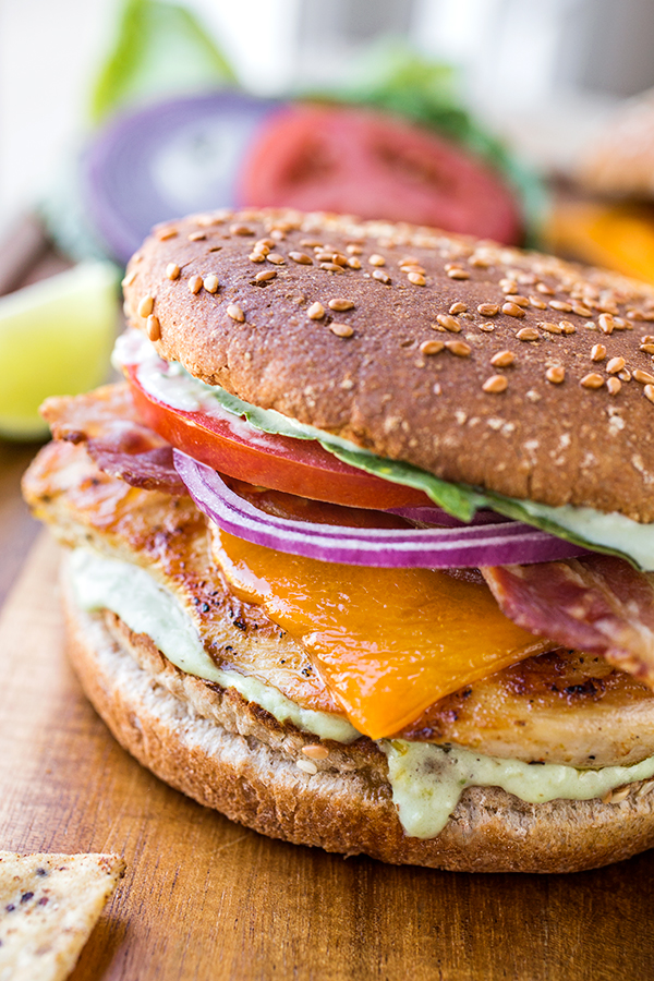Tequila-Lime Chicken Burgers | thecozyapron.com