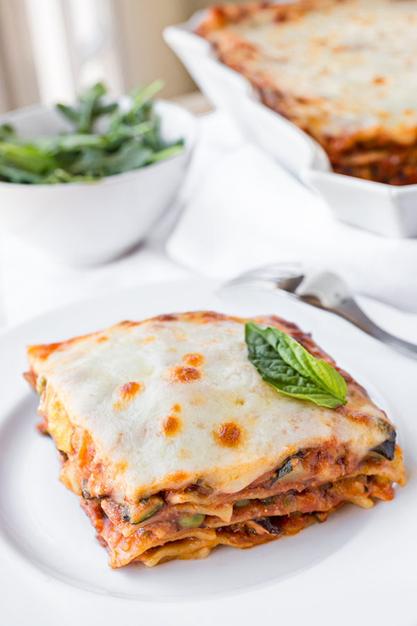 Pasta Primavera Lasagna | thecozyapron.com