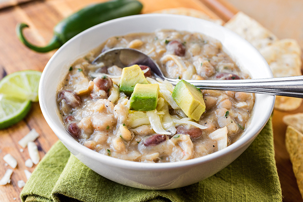 White Chicken Chili, and How Staying Present Can Potentially Create a More Peaceful Now