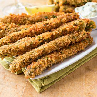 Parmesan Asparagus | thecozyapron.com