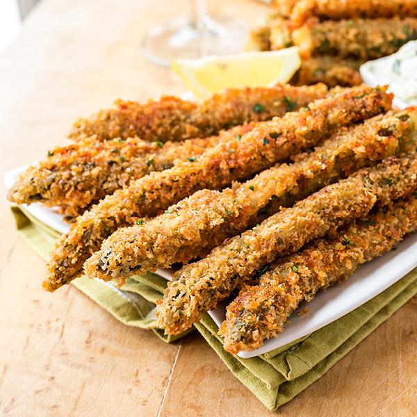Parmesan Asparagus Spears | thecozyapron.com