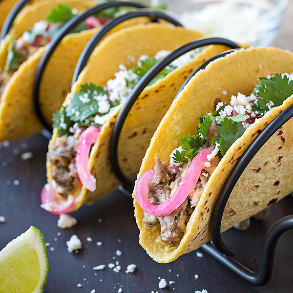 Beef Street Tacos | thecozyapron.com
