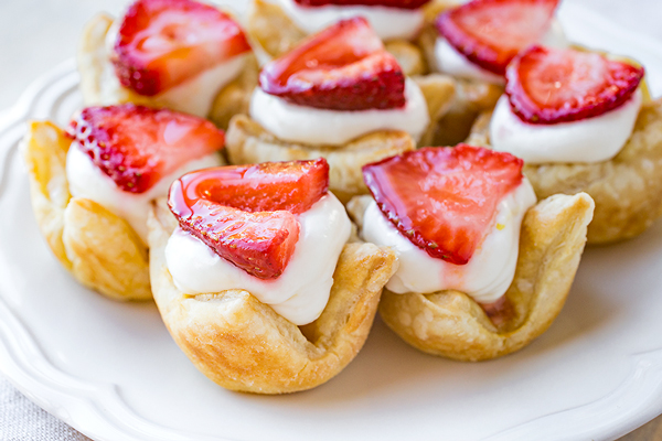 Strawberry Lemon Cream Tartlets, and Existing in That Delicious Tension between Sweet and Sour