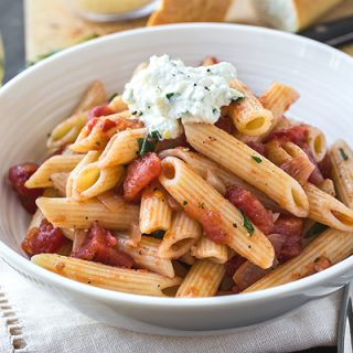 Penne Pomodoro, and Discovering the Fullness of Flavor in Something Simple