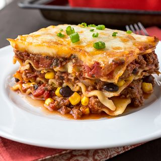 Mexican Lasagna, a Little Something Zesty to Usher in the Fall With