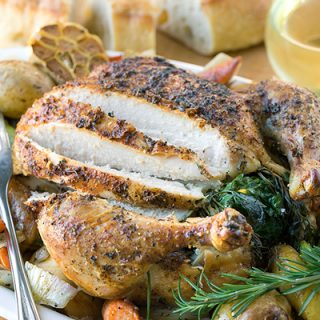 Roasted Chicken with Autumn Vegetables, the Perfect Nourishment for a Reflective Season