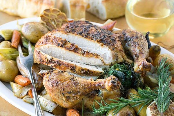 Roasted Chicken with Autumn Vegetables, the Perfect Nourishment for a ...