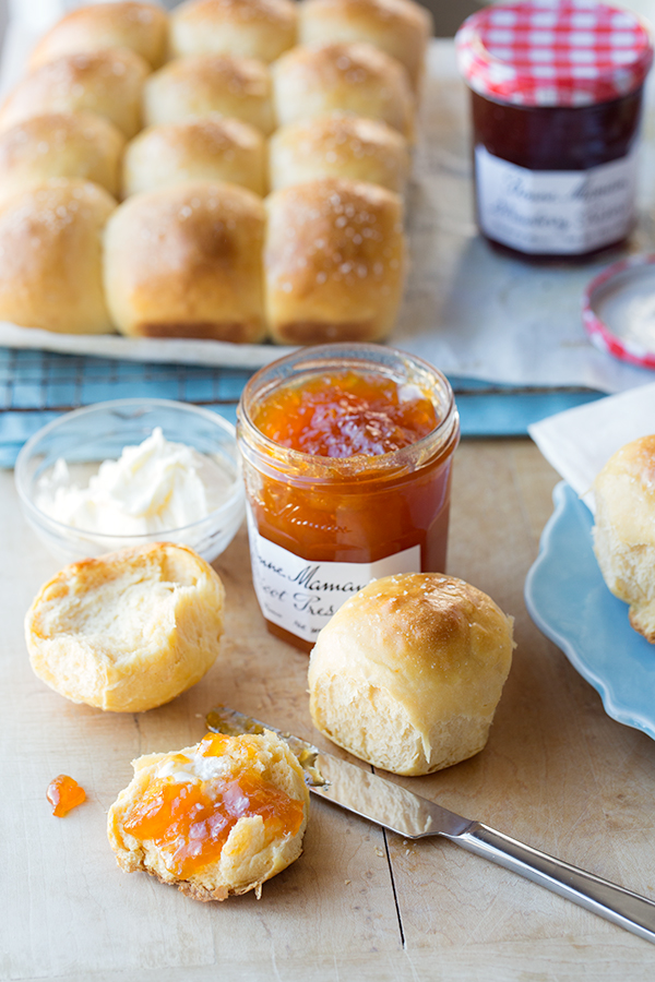 Buttery Sweet Potato Dinner Rolls, Gloriously Tender and Exquisitely ...