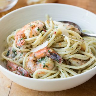 Shrimp Scampi, and the Changing Look of the Holidays
