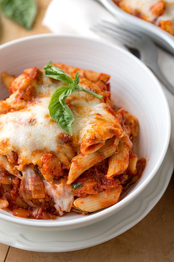Chicken Fra Diavolo Bake | thecozyapron.com