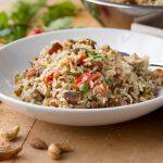 Mediterranean Rice | thecozyapron.com