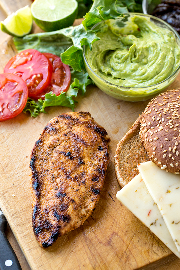 Chicken Burger Ingredients | thecozyapron.com