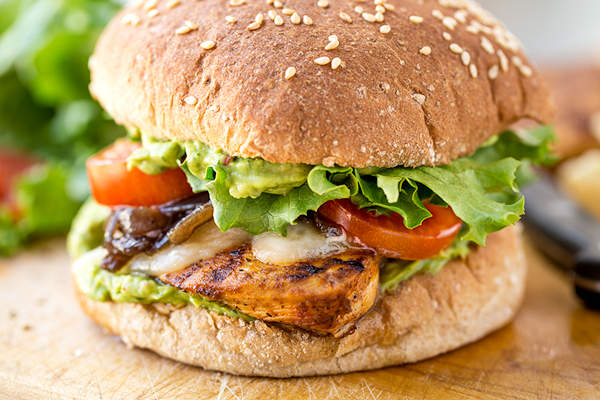 Spicy Guacamole Chicken Burger, and a Heart's Desire for Something ...