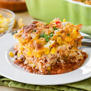 Chicken Tortilla Casserole, the Tasty Result of a Little Creative Collaboration