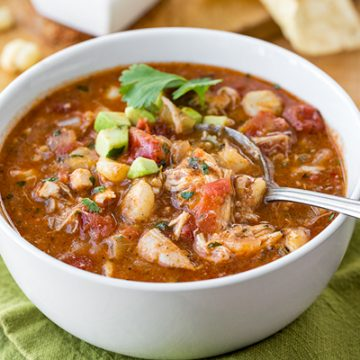 Mexican Chicken Soup | thecozyapron.com
