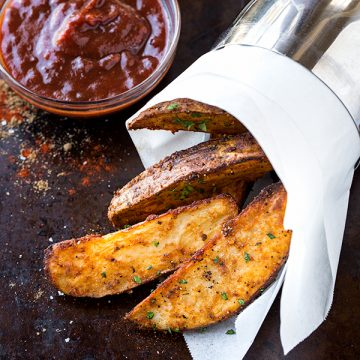 Oven Fries | thecozyapron.com