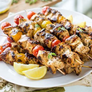 Grilled Lemon Chicken Skewers, and Flinging Open the Windows in All of Our Dark Rooms