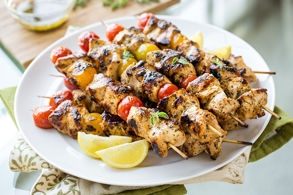 Grilled Lemon Chicken Skewers, and Flinging Open the Windows in All of ...