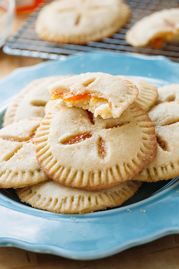 Apricot Sugar Cookie Pies | thecozyapron.com