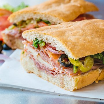 Italian Sub | thecozyapron.com