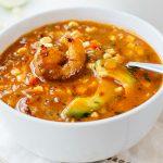 Shrimp and Corn Soup | thecozyapron.com