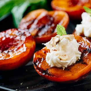Grilled Peaches, and Putting to Rest the Comparison Game