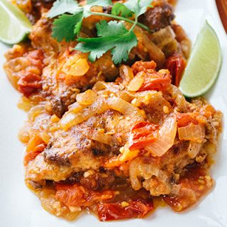 Peruvian Skillet Chicken, an Inspired Original