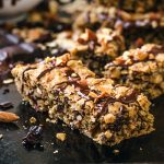 Trail Mix Cookie Bars | thecozyapron.com