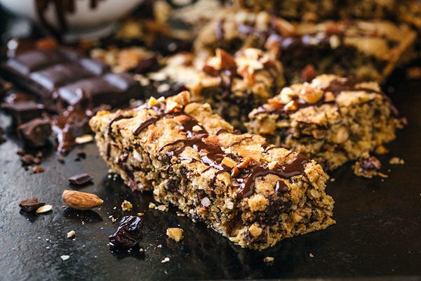 Trail Mix Cookie Bars, and Taking the Sweet with the Salty