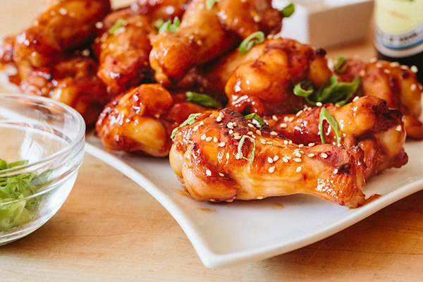 Spicy Orange Chicken Wings, and the Deliciousness of Those Sweet and Spicy Moments of Life