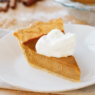 The Perfect Pumpkin Pie, and Reflecting a Little on Holidays Past