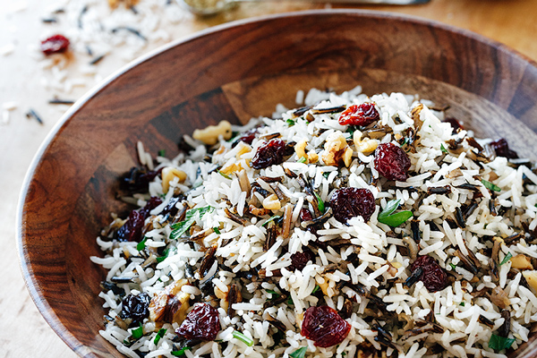 Holiday Wild Rice Pilaf, and Sprinkling Life Generously with Random Acts of Kindness