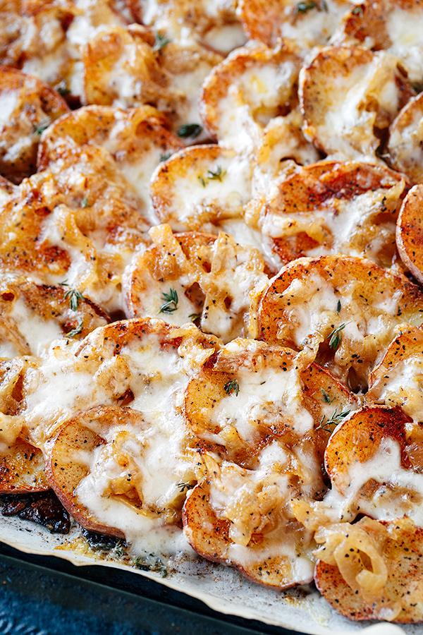 Potato and Onion Gratin | thecozyapron.com