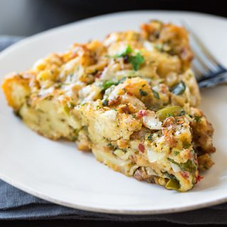 Deep Dish Breakfast Stuffing