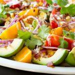 Avocado Salad with Zesty Lime Dressing | thecozyapron.com