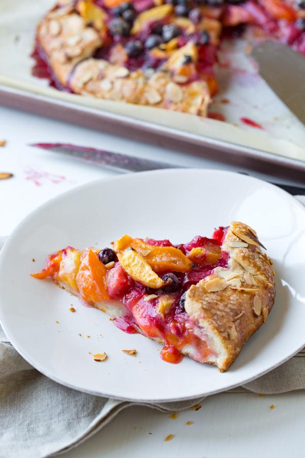 Summer Fruit Crostata | thecozyapron.com