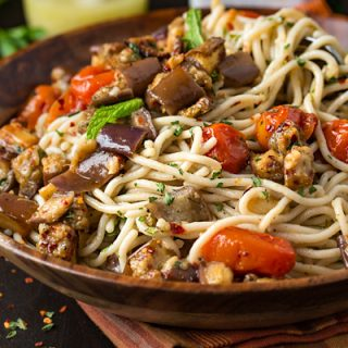 Gluten-Free Pasta Salad Mediterranean Style   thecozyapron.com