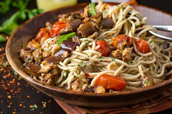 Gluten-Free Pasta Salad Mediterranean Style