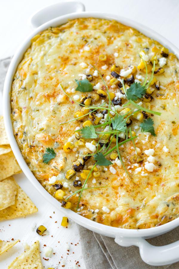 Mexican Corn Dip | thecozyapron.com