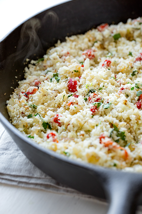 Cauliflower Rice | thecozyapron.com