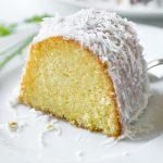 Lemon Bundt Cake with Creamy Coconut Glaze | thecozyapron.com