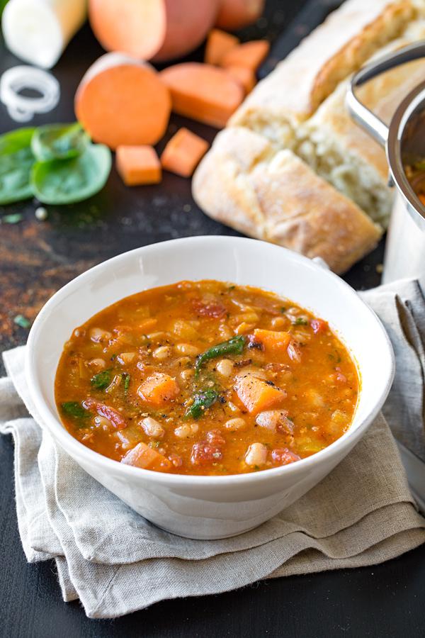 Chorizo Soup | thecozyapron.com