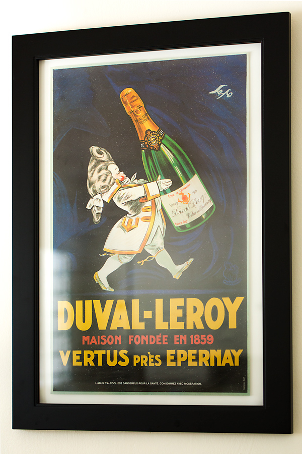 Duval-Leroy Champagne Poster | thecozyapron.com