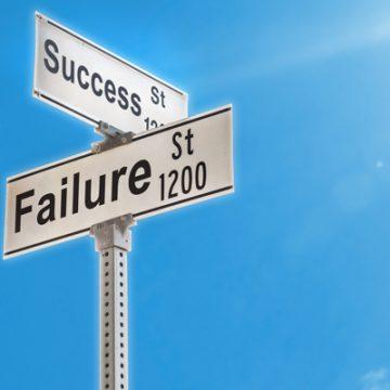 Failure, a Good Sign | thecozyapron.com